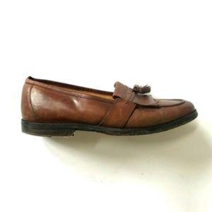Johnston & Murphy Loafers Mens 10.5 Brown Tassels
